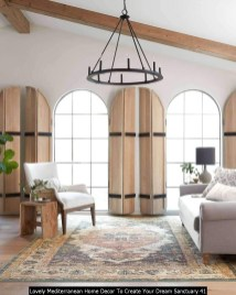 Lovely Mediterranean Home Decor To Create Your Dream Sanctuary 41