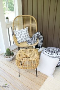 Magnificent Summer Furniture Ideas For Your Outdoor Decor 28