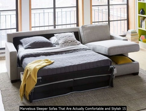 Marvelous Sleeper Sofas That Are Actually Comfortable And Stylish 15