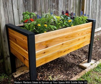 Modern Planters Ideas To Spruce Up Your Space With Subtle Style 10