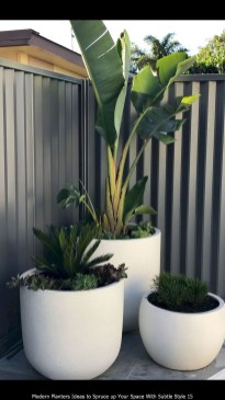 Modern Planters Ideas To Spruce Up Your Space With Subtle Style 15