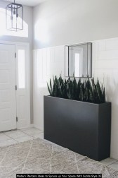 Modern Planters Ideas To Spruce Up Your Space With Subtle Style 35