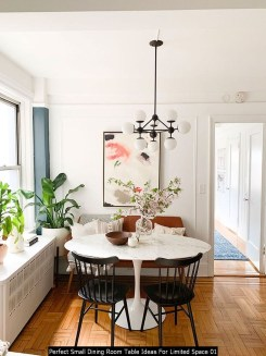 Perfect Small Dining Room Table Ideas For Limited Space 01