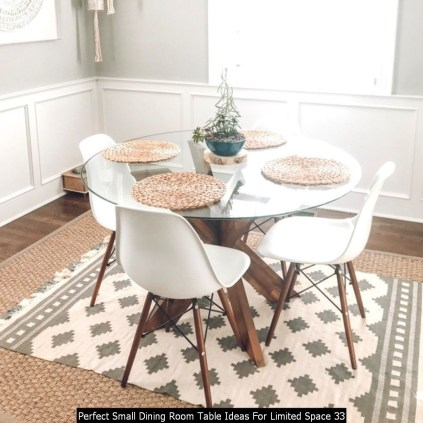 Perfect Small Dining Room Table Ideas For Limited Space 33