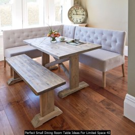 Perfect Small Dining Room Table Ideas For Limited Space 40
