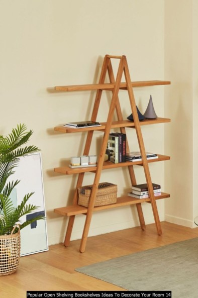 Popular Open Shelving Bookshelves Ideas To Decorate Your Room 14