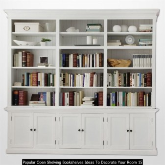Popular Open Shelving Bookshelves Ideas To Decorate Your Room 15