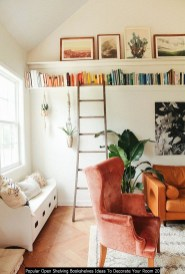 Popular Open Shelving Bookshelves Ideas To Decorate Your Room 20