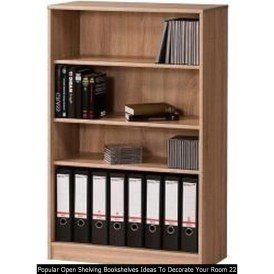 Popular Open Shelving Bookshelves Ideas To Decorate Your Room 22