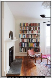 Popular Open Shelving Bookshelves Ideas To Decorate Your Room 27