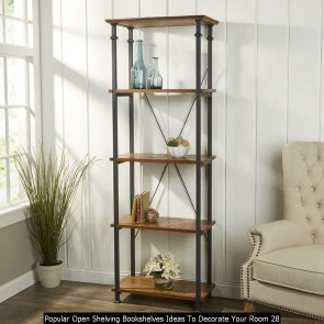 Popular Open Shelving Bookshelves Ideas To Decorate Your Room 28