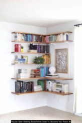Popular Open Shelving Bookshelves Ideas To Decorate Your Room 38