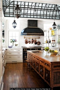 Rustic Traditional Kitchen Interior Design Ideas You Must See 12