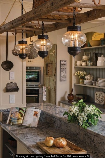 Stunning Kitchen Lighting Ideas And Tricks For Old Homeowners 04