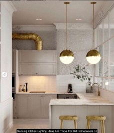 Stunning Kitchen Lighting Ideas And Tricks For Old Homeowners 16