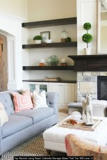 Top Neutral Living Room Cabinets Storage Ideas That You Will Love 11