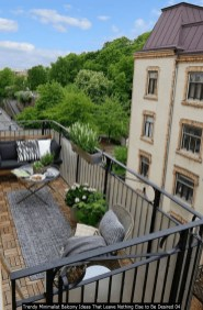 Trendy Minimalist Balcony Ideas That Leave Nothing Else To Be Desired 04