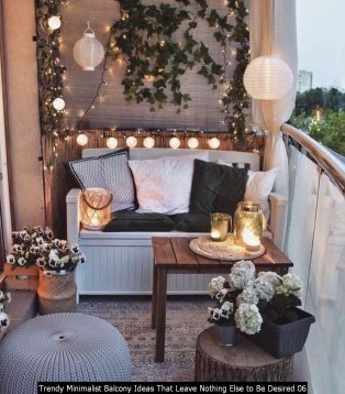 Trendy Minimalist Balcony Ideas That Leave Nothing Else To Be Desired 06