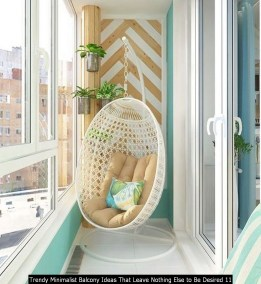 Trendy Minimalist Balcony Ideas That Leave Nothing Else To Be Desired 11