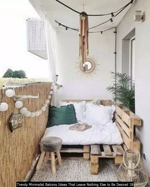 Trendy Minimalist Balcony Ideas That Leave Nothing Else To Be Desired 18