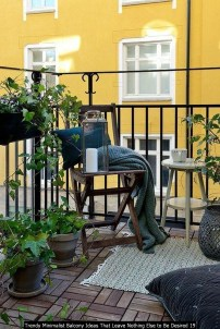 Trendy Minimalist Balcony Ideas That Leave Nothing Else To Be Desired 19