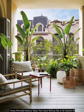 Trendy Minimalist Balcony Ideas That Leave Nothing Else To Be Desired 34