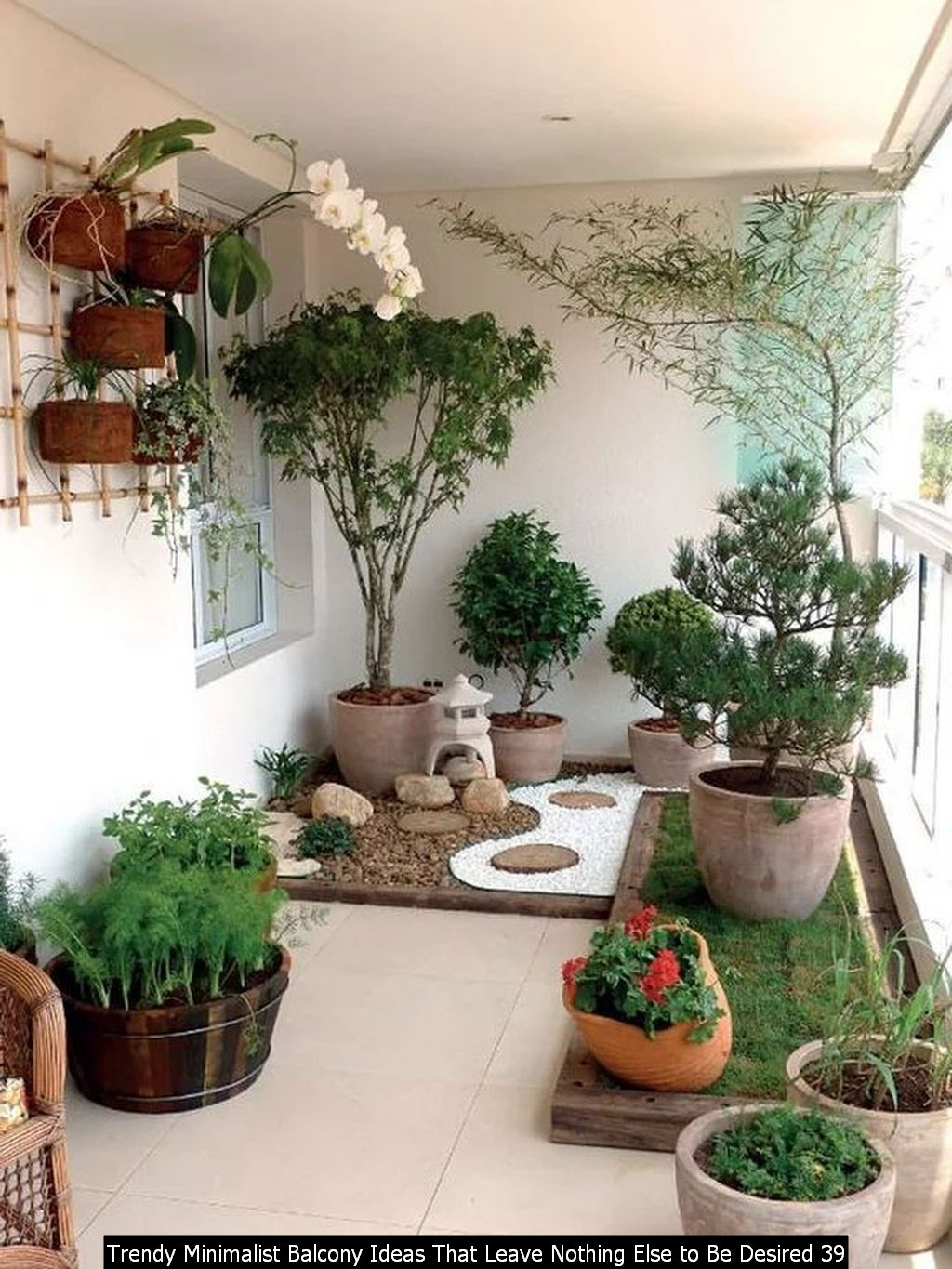 Trendy Minimalist Balcony Ideas That Leave Nothing Else To Be Desired 39