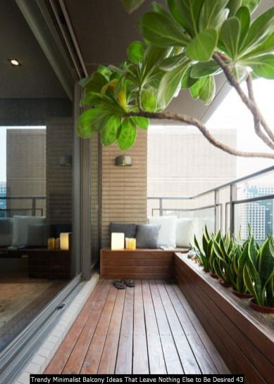 Trendy Minimalist Balcony Ideas That Leave Nothing Else To Be Desired 43