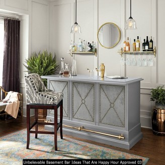 Unbelievable Basement Bar Ideas That Are Happy Hour Approved 03
