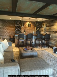 Unbelievable Basement Bar Ideas That Are Happy Hour Approved 09