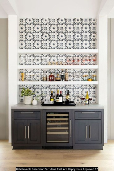Unbelievable Basement Bar Ideas That Are Happy Hour Approved 17