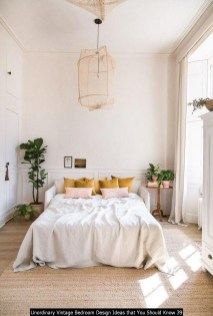 Unordinary Vintage Bedroom Design Ideas That You Should Know 39