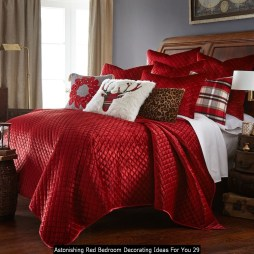 Astonishing Red Bedroom Decorating Ideas For You 29
