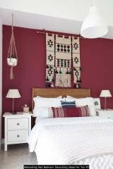 Astonishing Red Bedroom Decorating Ideas For You 40