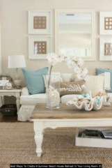 Best Ways To Create A Summer Beach House Retreat In Your Living Room 31