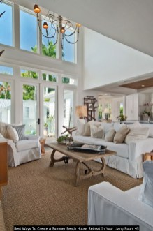 Best Ways To Create A Summer Beach House Retreat In Your Living Room 45
