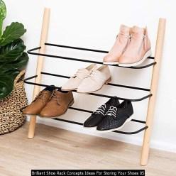 Brilliant Shoe Rack Concepts Ideas For Storing Your Shoes 05