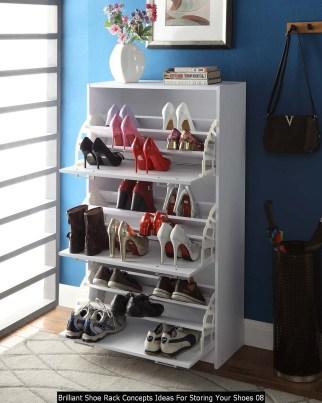 Brilliant Shoe Rack Concepts Ideas For Storing Your Shoes 08