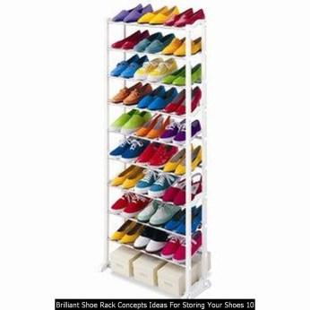 Brilliant Shoe Rack Concepts Ideas For Storing Your Shoes 10