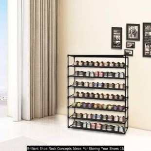 Brilliant Shoe Rack Concepts Ideas For Storing Your Shoes 16