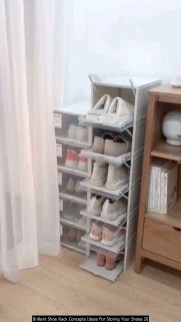 Brilliant Shoe Rack Concepts Ideas For Storing Your Shoes 20