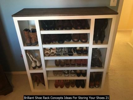 Brilliant Shoe Rack Concepts Ideas For Storing Your Shoes 21