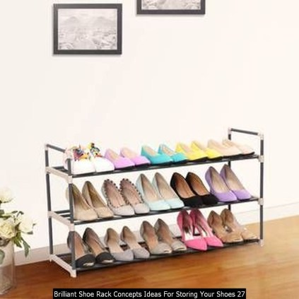 Brilliant Shoe Rack Concepts Ideas For Storing Your Shoes 27
