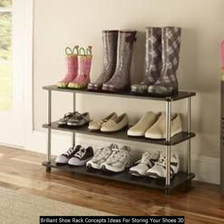 Brilliant Shoe Rack Concepts Ideas For Storing Your Shoes 30