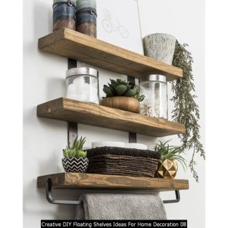 Creative DIY Floating Shelves Ideas For Home Decoration 08