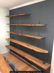 Creative DIY Floating Shelves Ideas For Home Decoration 10