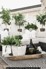 Elegant Patio Rug Ideas To Make Your Chilling Spot Becomes Cozier 14