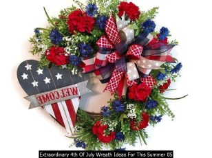 Extraordinary 4th Of July Wreath Ideas For This Summer 05