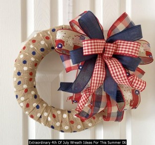 Extraordinary 4th Of July Wreath Ideas For This Summer 06