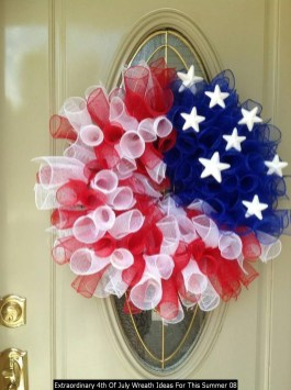 Extraordinary 4th Of July Wreath Ideas For This Summer 08
